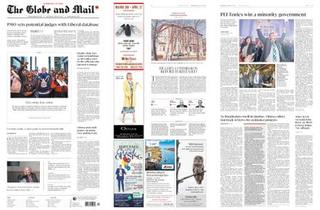 The Globe and Mail – April 24, 2019