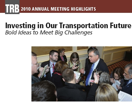 Investing in Our Transportation Future: Bold Ideas to Meet Big Challenges