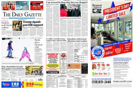 The Daily Gazette – February 20, 2018