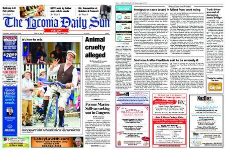 The Laconia Daily Sun – August 14, 2018