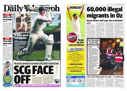 The Daily Telegraph (Sydney) – January 04, 2018