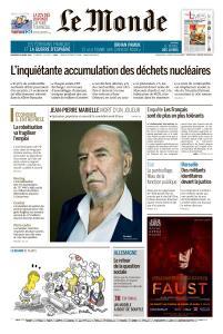 Le Monde du Vendredi 26 Avril 2019