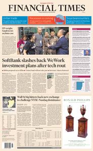 Financial Times Europe – 08 January 2019