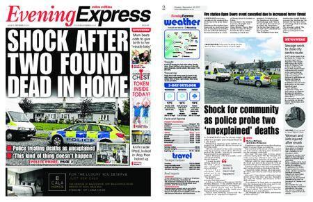 Evening Express – September 18, 2017