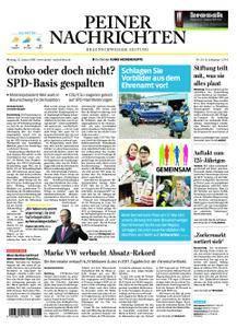 Peiner Nachrichten - 15. Januar 2018