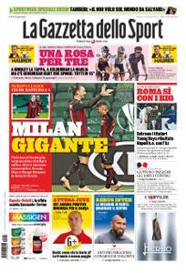 La Gazzetta dello Sport Roma – 23 ottobre 2020