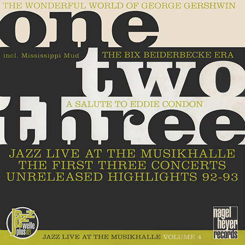 Allstars Bands Of George Masso, Randy Sandke & Ed Polcer - Jazz Live At The Musikhalle - One, Two, Three (1994)