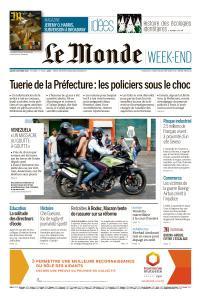 Le Monde du Samedi 5 Octobre 2019
