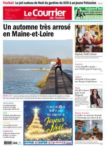 Le Courrier de l'Ouest Nord Anjou – 24 décembre 2019