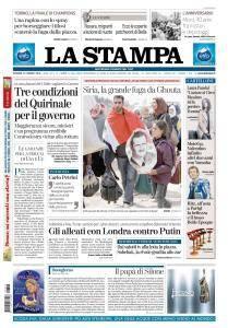 La Stampa Torino Provincia e Canavese - 16 Marzo 2018