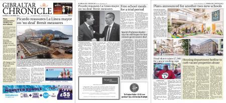 Gibraltar Chronicle – 14 September 2019