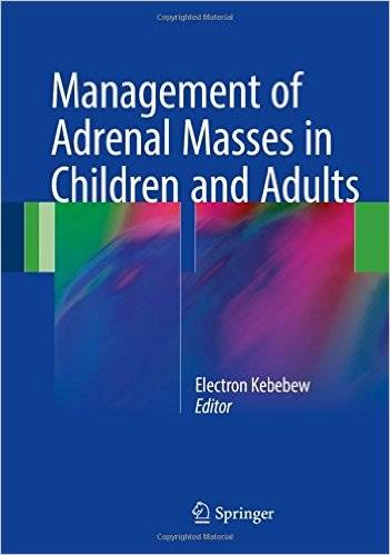 Management of Adrenal Masses in Children and Adults (Repost)