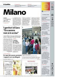 la Repubblica Milano - 12 Giugno 2018