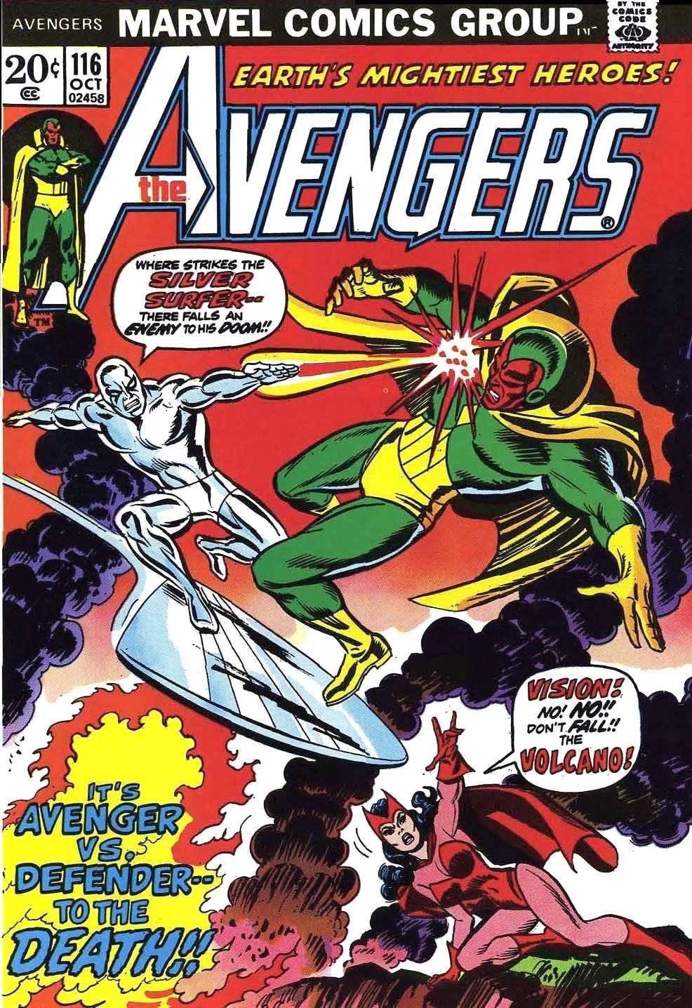 For Whomever - Avengers v1 116 cbr