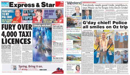 Express and Star Sandwell Edition – April 07, 2018