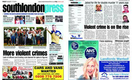 South London Press – August 17, 2018