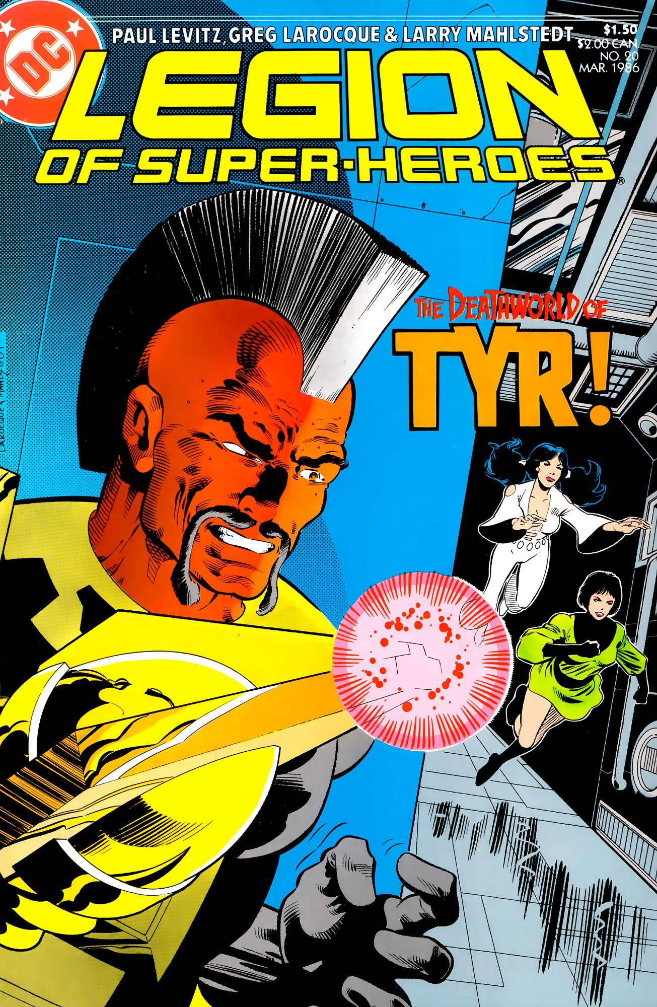 Legion of Super-Heroes v3 020 1986