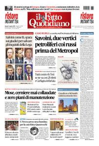 Il Fatto Quotidiano - 02 agosto 2019