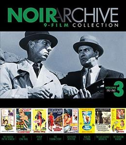 Noir Archive Volume 3: 9-Film Collection (1957-1960)
