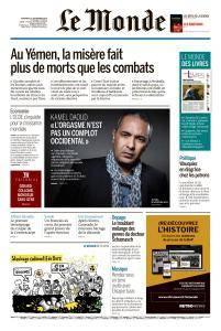 Le Monde du Vendredi 21 Septembre 2018