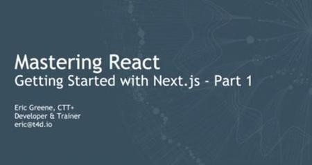 Getting Started with Next.js, Part 1