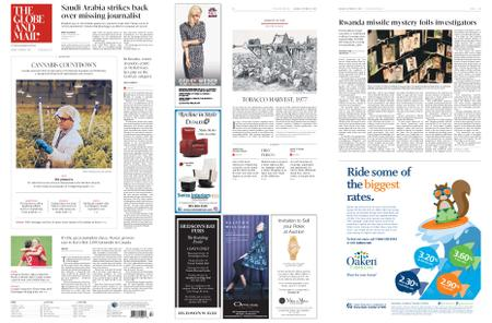 The Globe and Mail – October 15, 2018