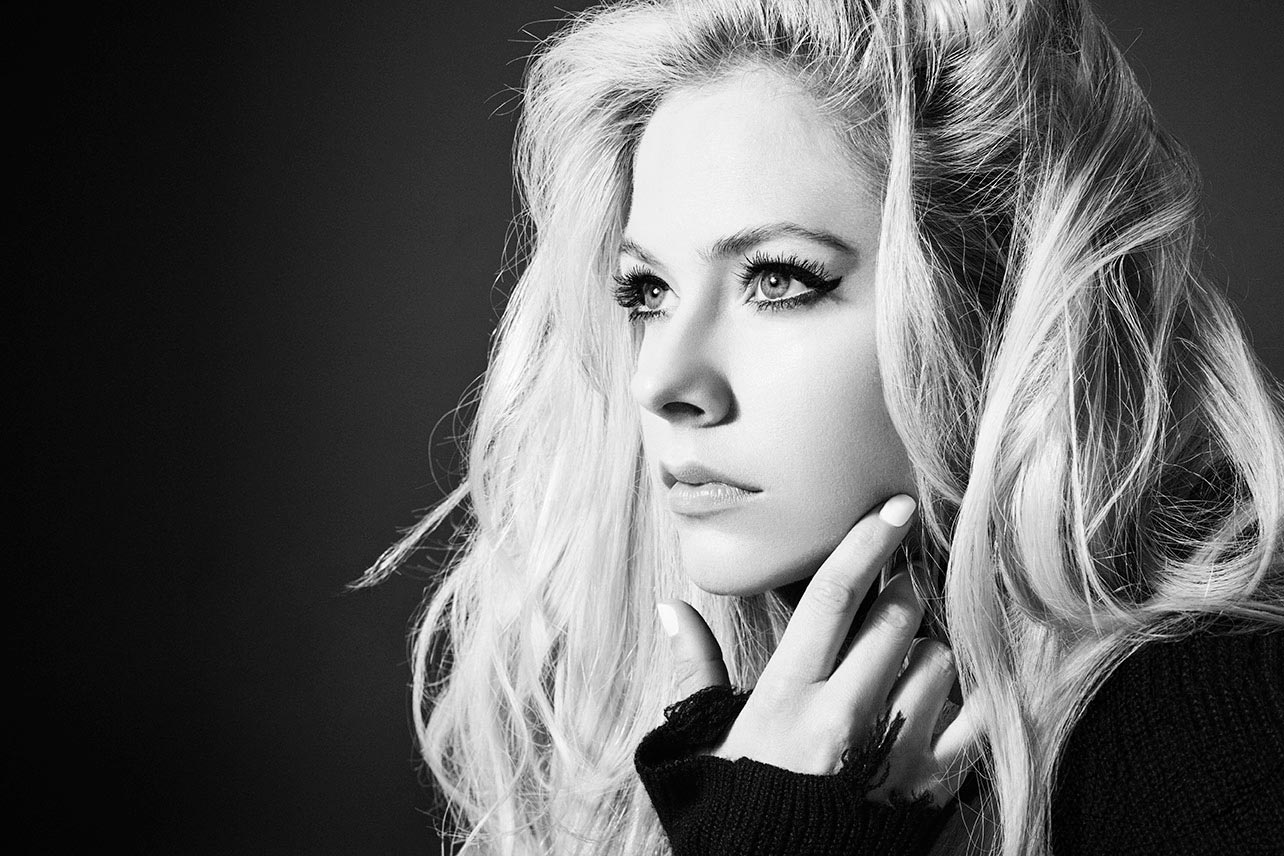 Avril Lavigne By David Needleman For Head Above Water
