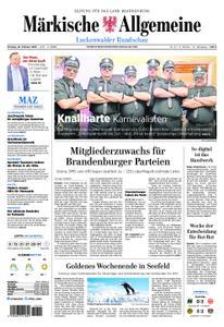 Märkische Allgemeine Luckenwalder Rundschau - 25. Februar 2019