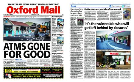 Oxford Mail – March 19, 2019
