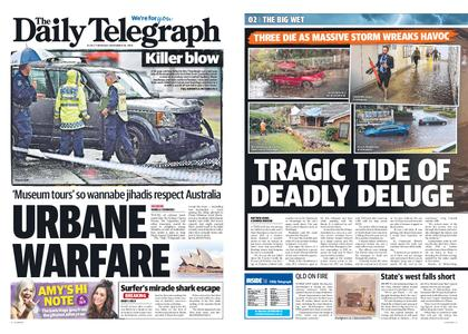 The Daily Telegraph (Sydney) – November 29, 2018
