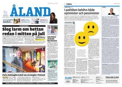 Ålandstidningen – 31 juli 2018