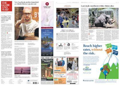 The Globe and Mail – March 21, 2018