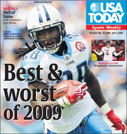 USA Today Sports Weekly - 30 December 2009- 5 January 2010