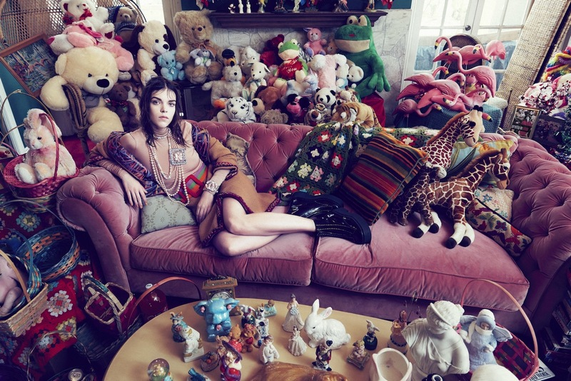 Meghan Collison by Sofia Sanchez & Mauro Mongiello for Numéro China #44 November 2014