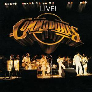The Commodores - Live! (1977/2015) [Official Digital Download 24/192]