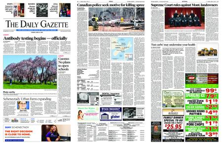 The Daily Gazette – April 21, 2020