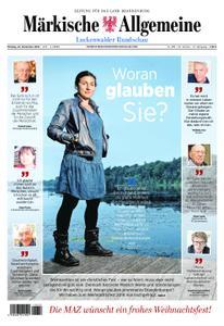 Märkische Allgemeine Luckenwalder Rundschau - 24. Dezember 2018