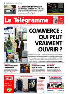 Le Télégramme Brest Abers Iroise – 03 novembre 2020