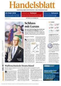 Handelsblatt - 26. Oktober 2016