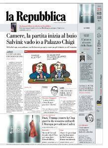 la Repubblica - 23 Marzo 2018