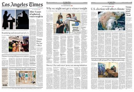 Los Angeles Times – November 03, 2020