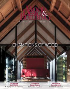 Wood Design & Building - Winter 2019-2020