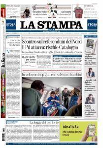 La Stampa Torino Provincia e Canavese - 21 Ottobre 2017