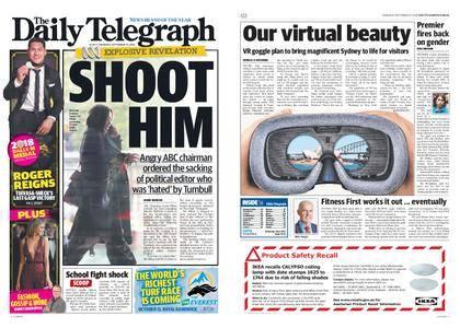 The Daily Telegraph (Sydney) – September 27, 2018