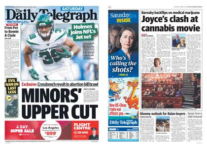 The Daily Telegraph (Sydney) – August 10, 2019
