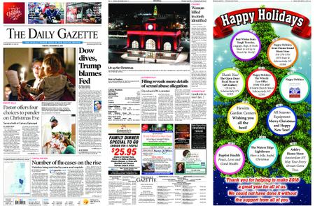 The Daily Gazette – December 25, 2018