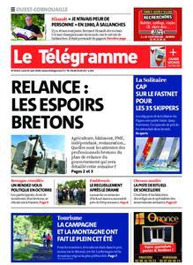 Le Télégramme Ouest Cornouaille – 31 août 2020