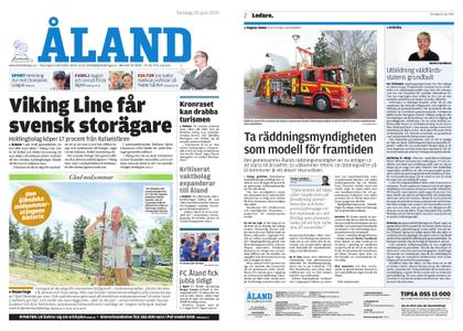 Ålandstidningen – 20 juni 2019