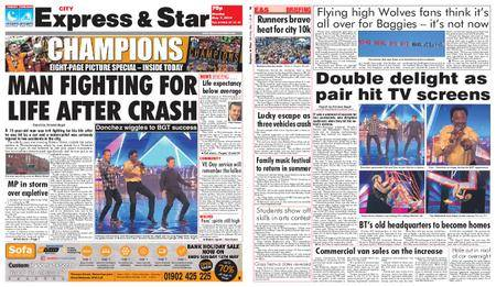 Express and Star City Edition – May 07, 2018