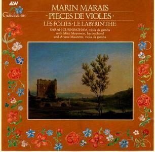 Sarah Cunningham, Mitzi Meyerson, Ariane Maurette - Marais: Pièces de Violes, Les Folies, Le Labyrinthe (1989)